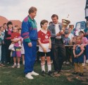Miniknabenturnier am 22.06.1991 in Oepping (2. Platz)